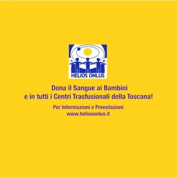 COMUNICATO STAMPA PRESENTAZIONE SPOT DONAZIONE SANGUE HELIOS ONLUS MERCOLEDÌ 3 APRILE ORE 12 PALAZZO VECCHIO